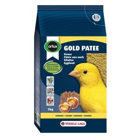 Gold pätée canari