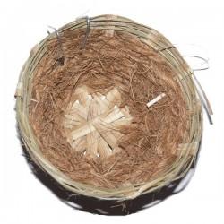 Nid canaris en osier et coco