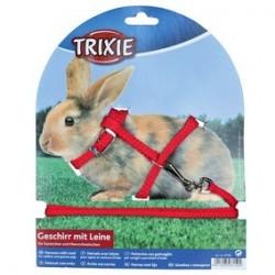 Harnais avec laisse pour lapins trixie