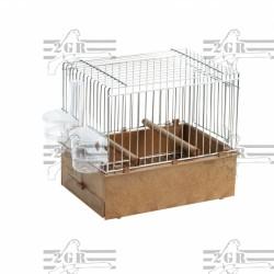 Cage pour oiseaux de chant pour exposition